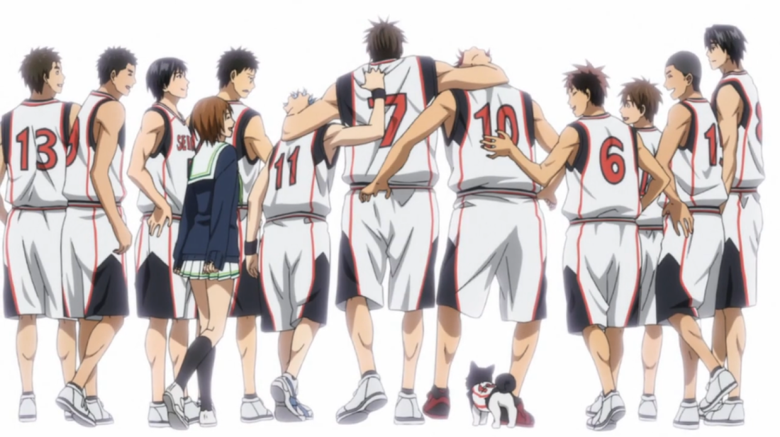 Kuroko no basket analysis kuroko no basket seirin is a team that heavily relies on teamwork as seen here the team is also a great group of friends voltagebd Gallery